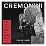 Più Che Logico – Live nuovo album di Cesare Cremonini formato da 3 CD + DVD: tracklist e copertina