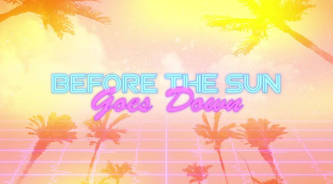 Before-the-Sun-Goes-Down-lyric-video-Caroline-Koch