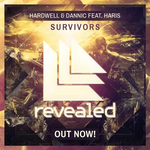 Hardwell--Dannic-feat-Haris-Survivors-cover