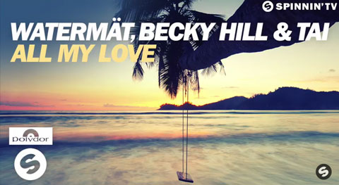 watermat-Becky-Hill-TAI-All-My-Love