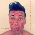 Thomas Grazioso, #Baciami: testo e audio