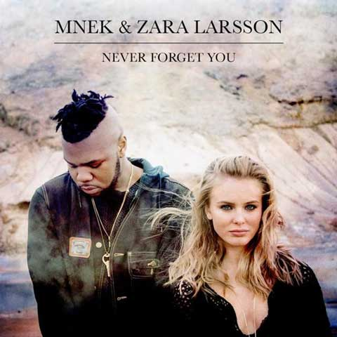 MNEK_Zara_Larsson_Never_Forget_You_cover