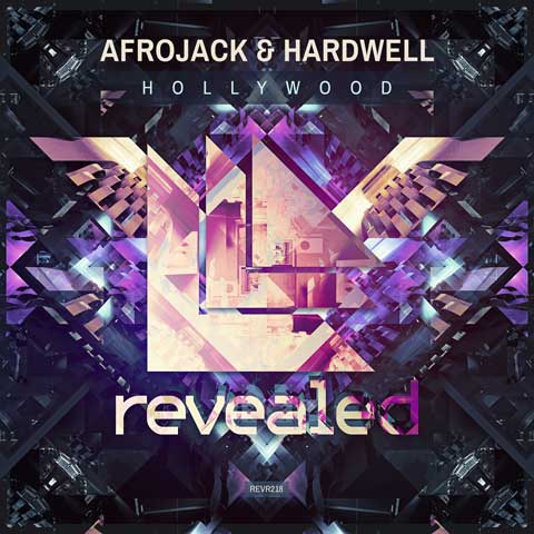Afrojack-Hardwell-Hollywood-artwork