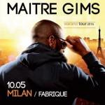 Maître Gims: concerti in Italia nel 2016 a Roma e Milano: calendario tour + biglietti