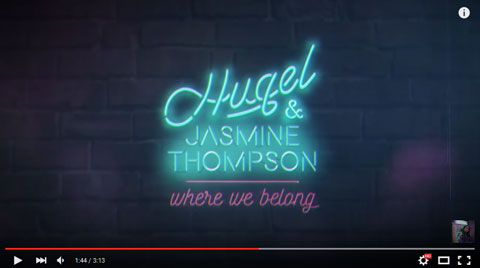 hugel-jasmine-thompson-were-we-belong-lyric-video