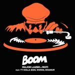 Major Lazer & MOTi – Boom feat. Ty Dolla $ign, Wizkid & Kranium: testo, traduzione e video