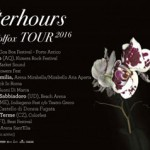 Afterhours: date e informazioni del tour 2016 e biglietti per assistere ai concerti