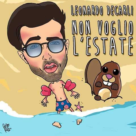 Leonardo-DeCarli-Non-voglio-lestate-coverart