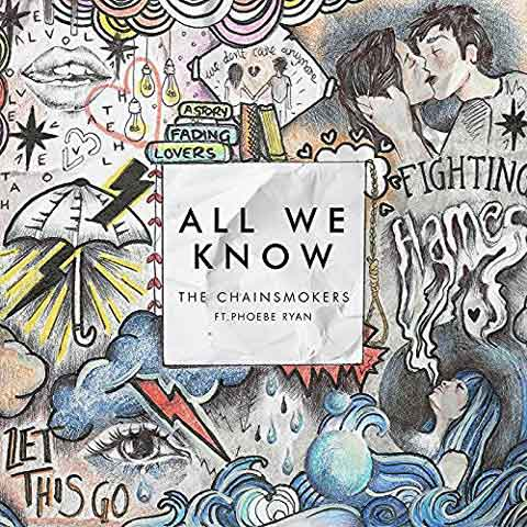 the-chainsmokers-all-we-know-cover-singolo