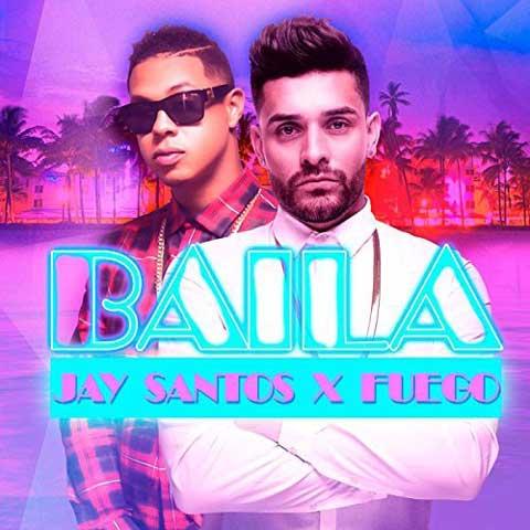copertina-baila-jay-santos-feat-fuego