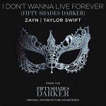 Zayn Malik & Taylor Swift nel singolo I Don't Wanna live forever per il film Fifty Shades Darker (Cinquanta sfumature di nero): audio, testo e traduzione + video