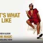 """Bruno Mars: ascolta il nuovo singolo """"That's What I Like"""" (testo e traduzione) + video"""