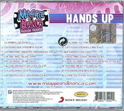 lato b copertina hands up