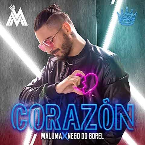 Maluma Corazón Testo Traduzione E Audio Ft Nego Do