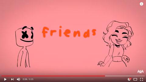 friend-lyric-video