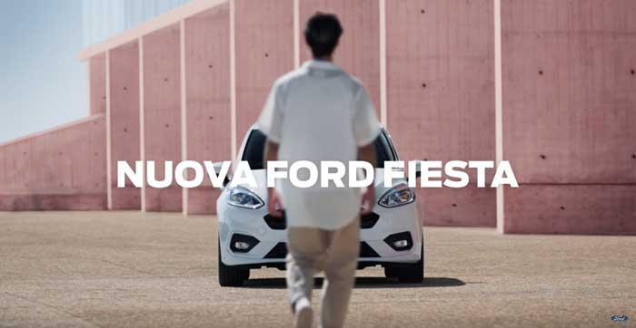 pubblicità Fiesta EcoBoost Hybrid 2021