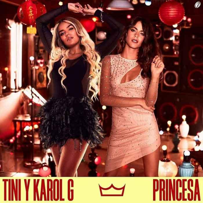 copertina-Princesa-TINI-Karol-G