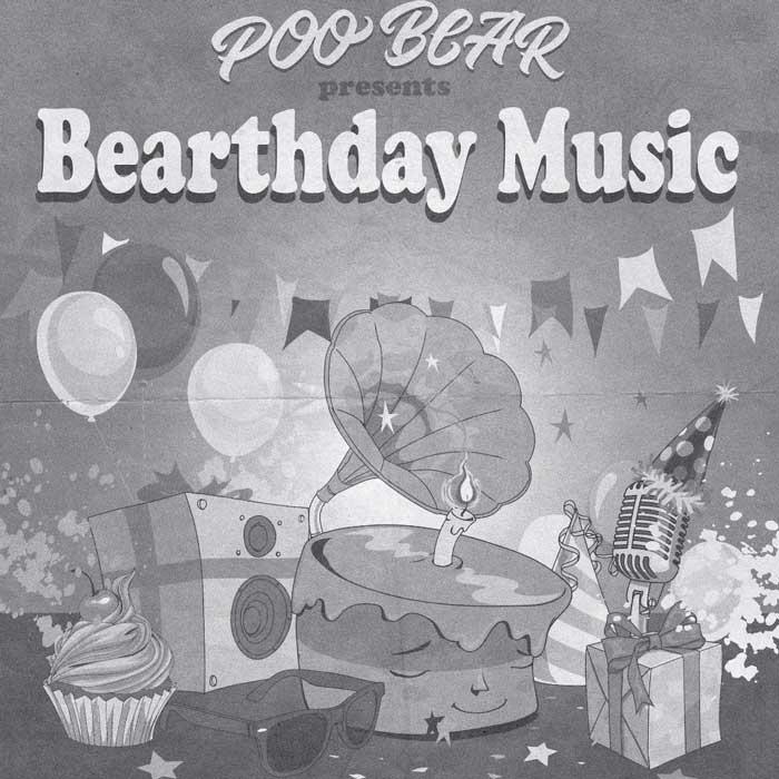 copertina-album-Poo-Bear-Presents-Bearthday-Music