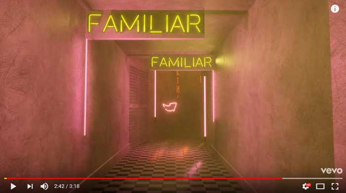 familiar-lyric-video