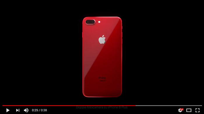 pubblicita-iphone-8-red