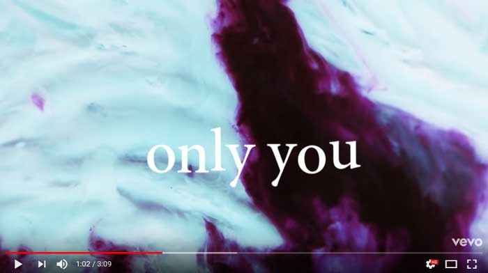 only-you-lyric-video