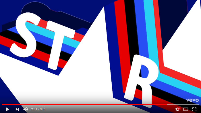 star-lyric-video