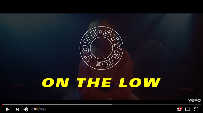 On-the-Low-lyric-video