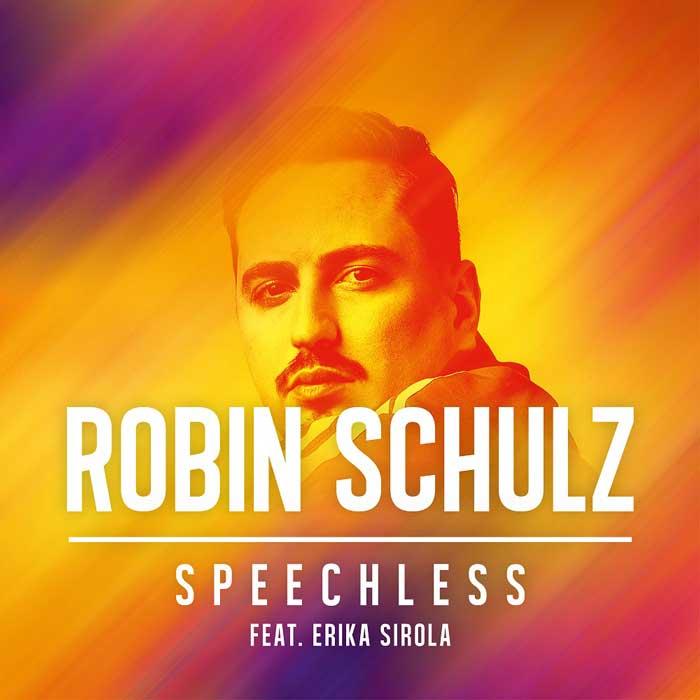 la copertina del singolo speechless