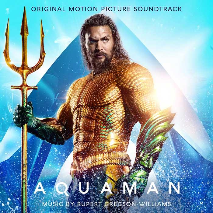 copertina album colonna sonora aquaman
