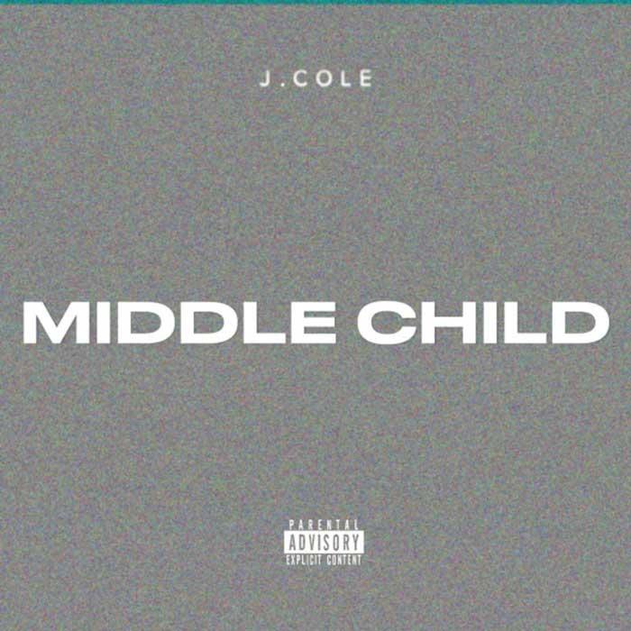la copertina di middle child