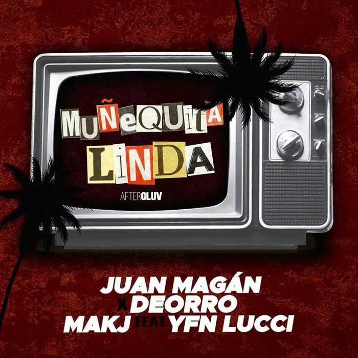 copertina brano Munequita Linda