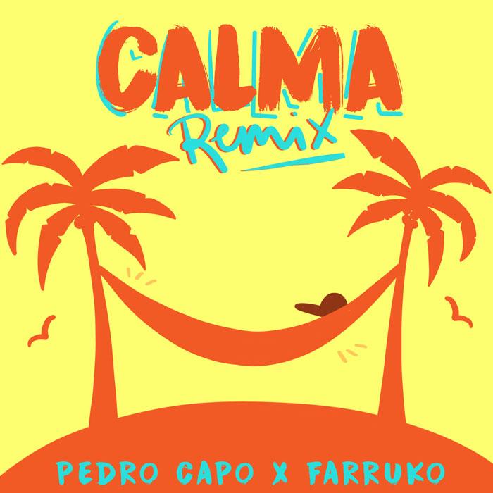 calma remix copertina brano