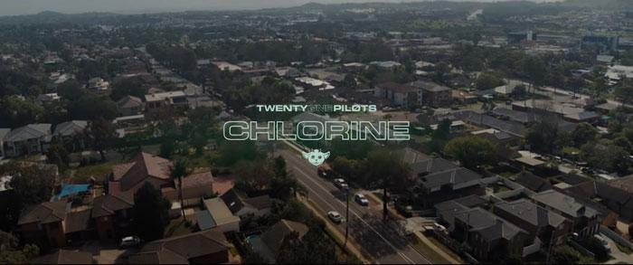 il video musicale di chlorine