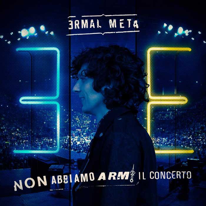 la copertina della raccolta di ermal meta non abbiamo armi il concerto