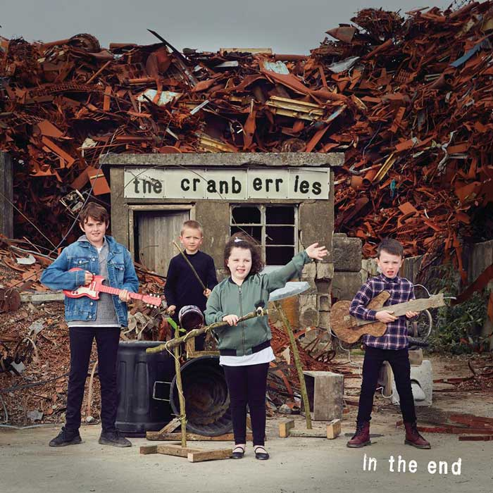 copertina album in the end Cranberries