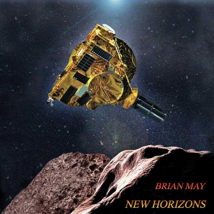 la copertina del singolo new horizons