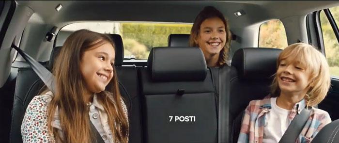 frame pubblicità skoda Kodiaq 7 Tech 2019