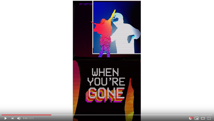 il lyric video di Better When You're Gone