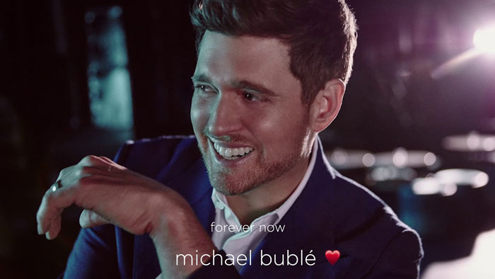 forever now michael bublé