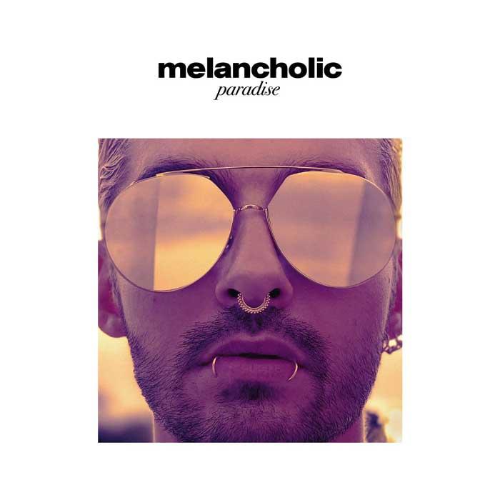 la copertina di Melancholic Paradise