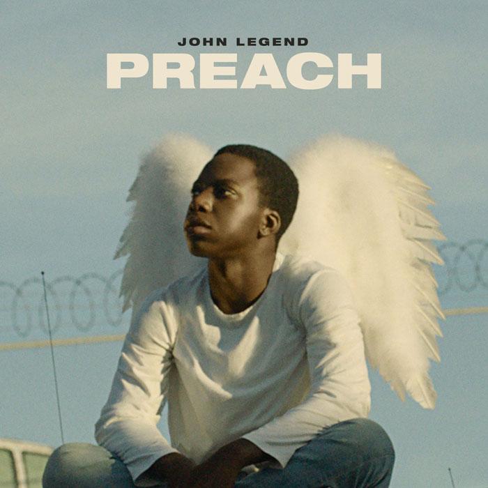 la copertina di preach