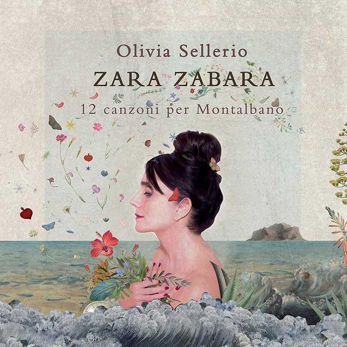 la copertina di Zara Zabara 12 Canzoni Per Montalbano