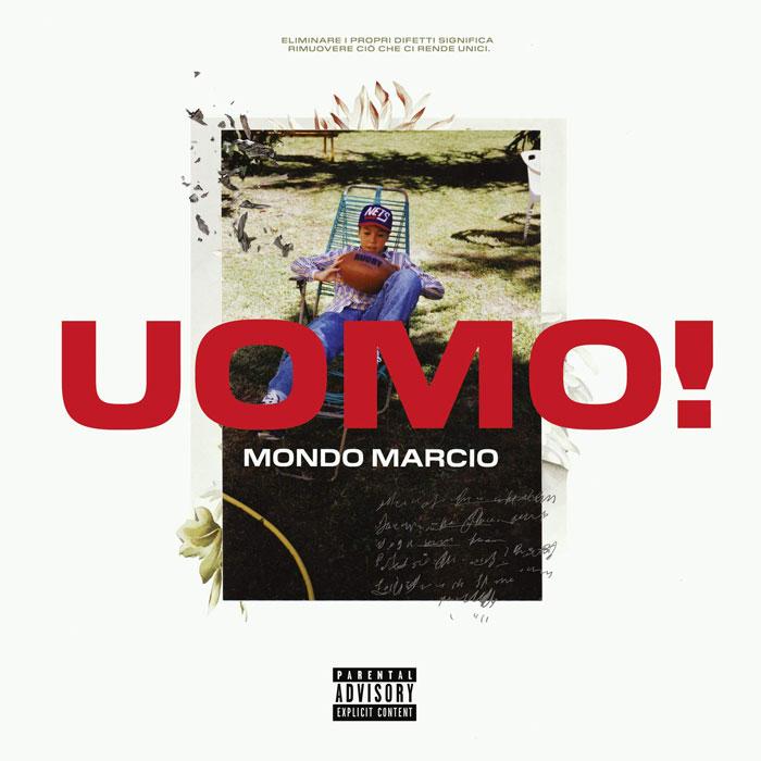 Mondo marcio copertina album Uomo