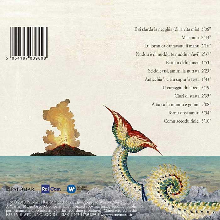il lato b della copertina di zara bazara
