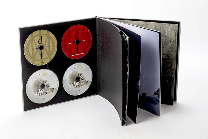 2CD Blu-ray DVD Artbook di Distance Over Time