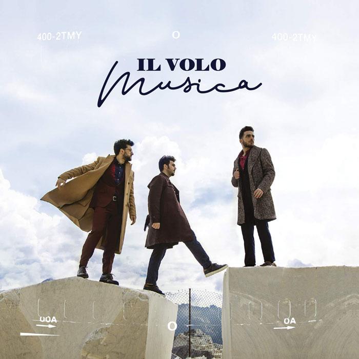 copertina album musica by il volo