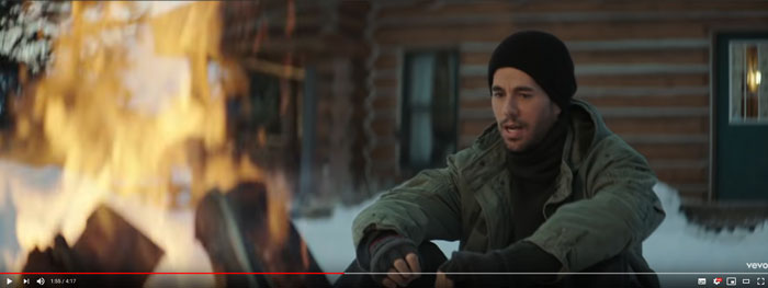 il video di Despues Que Te Perdi con Iglesias