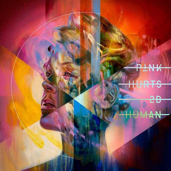copertina album pink Hurts 2B Human