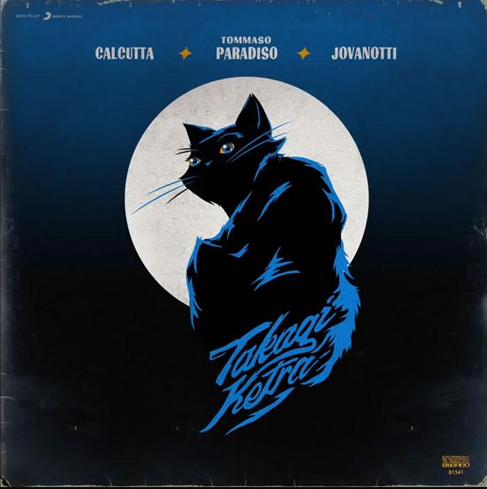 copertina canzone La Luna e la Gatta