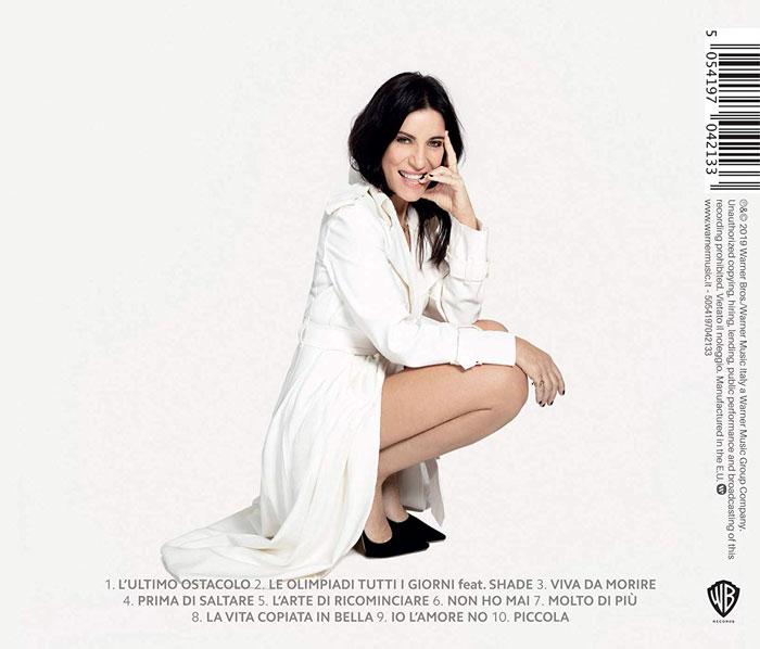 il lato b della copertina di Viva da Morire